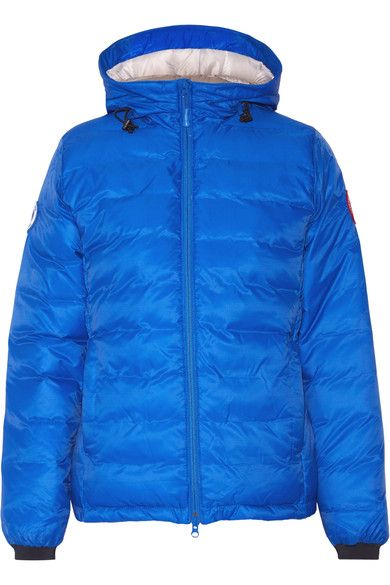 CANADA GOOSE Camp Hooded Quilted Shell Down Jacket. #canadagoose #cloth #outdoor