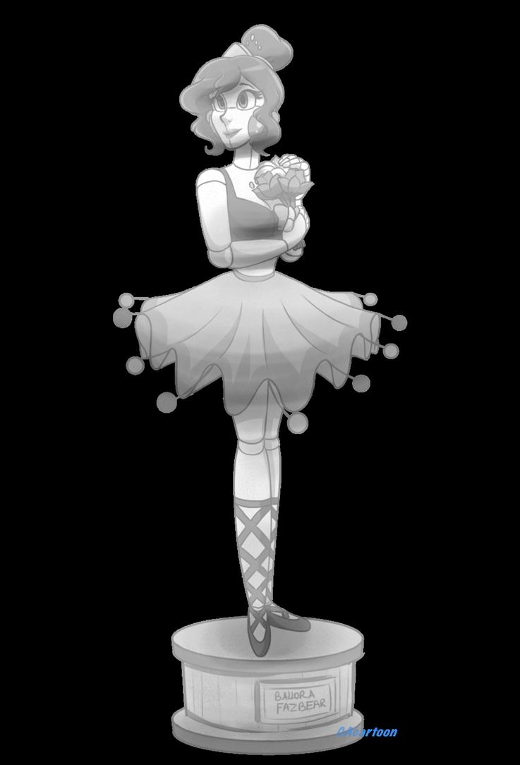 Ballora Statue by CAcartoon on DeviantArt в 2020 г Рисунки