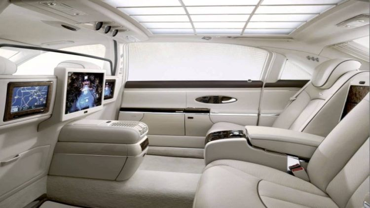 The 10 Most Over The Top Limousines In The World Right Now Luxury Car Interior Maybach Expensive Cars