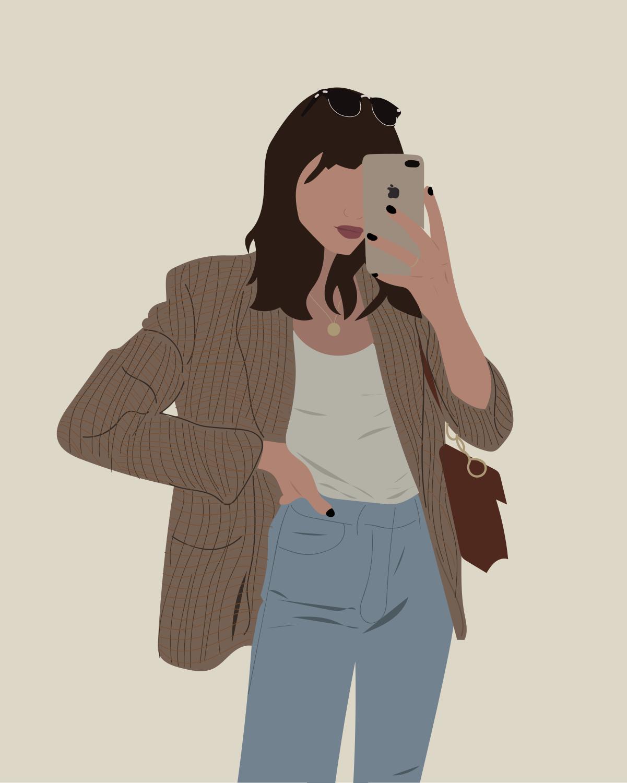 Fashion Inspired Illustration