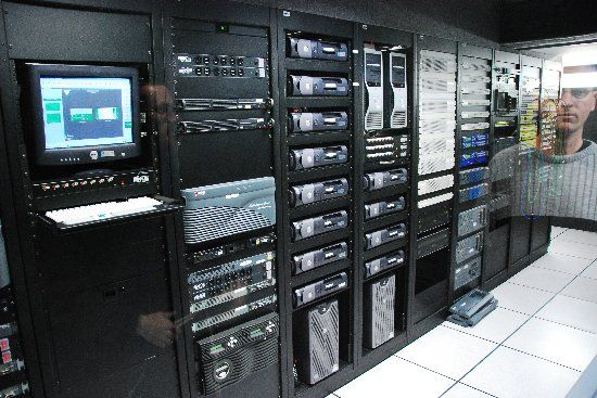 Mainframe computers are medium or large machines, made of several ...