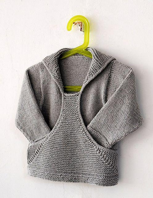 Pull Gaspard pattern by Christine Rouvillé | Tejido, Pequeños y Bebe