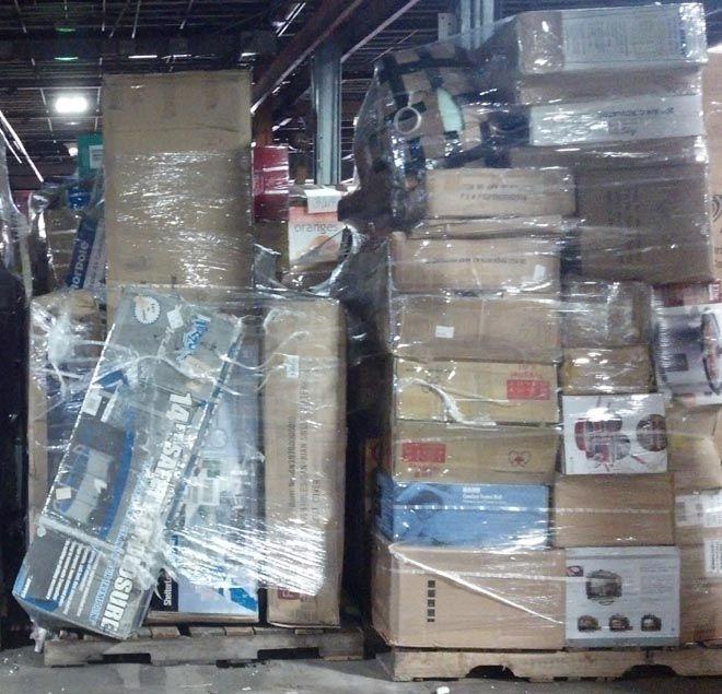 Wholesale Pallet For Sale: Fingerhut Wholesale Truckloads