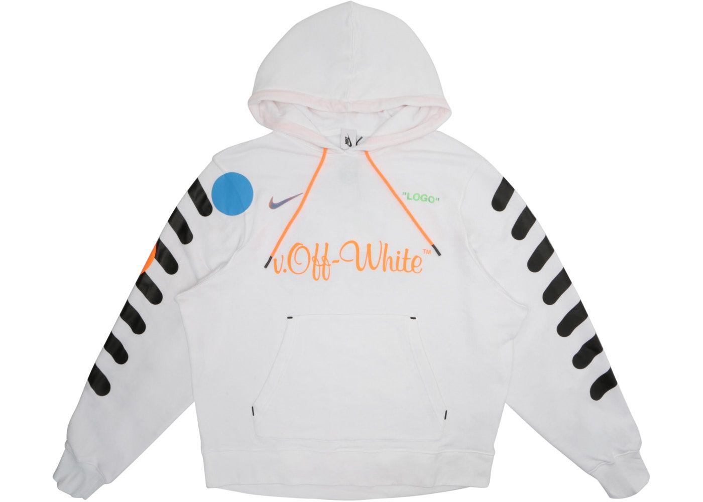 Nikelab X Off White Mercurial Nrg X Hoodie White In 2020 Off White Hoodie White Hoodie Outfit White Hoodie