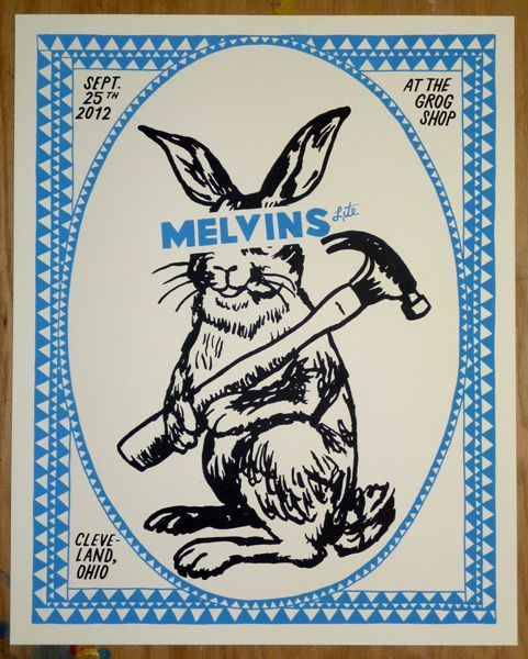 GigPosters.com - Melvins Lite