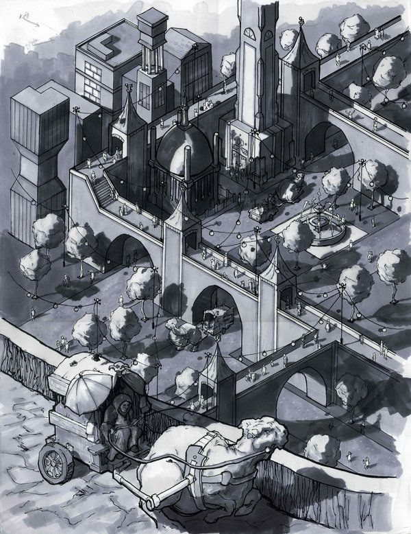 isometric city finished by ~n8gee | Isometric lovin