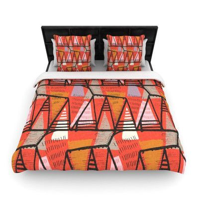 KESS InHouse Arnaud by Gill Eggleston Featherweight Duvet Cover Size: