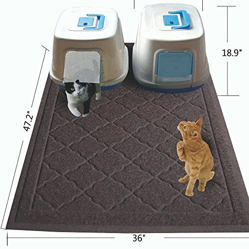 Easyology Jumbo Size Cat Litter Mat 47 X 36 In Best