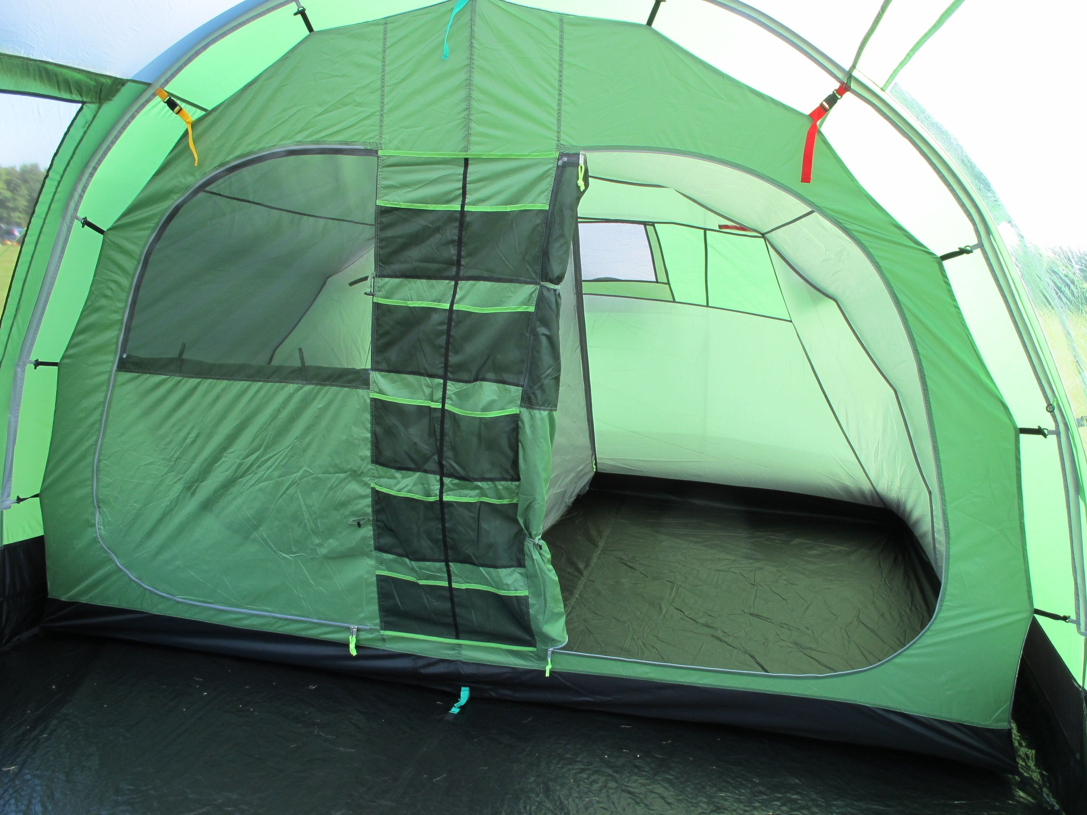 K&a Watergate 8 Family Tunnel tent; mesh pockets are awesome! & Kampa Watergate 8 Family Tunnel tent; mesh pockets are awesome ...