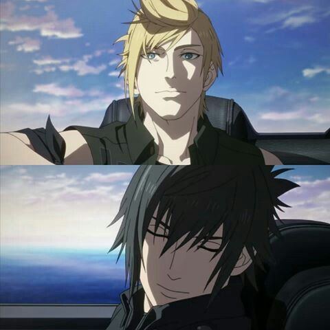 Final Fantasy Xv Brotherhood Anime Final Fantasy Final