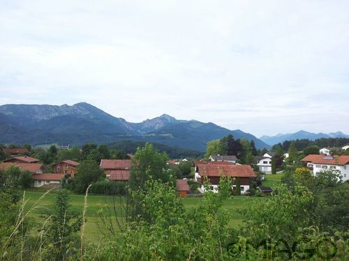 Great view over the village #Bayern