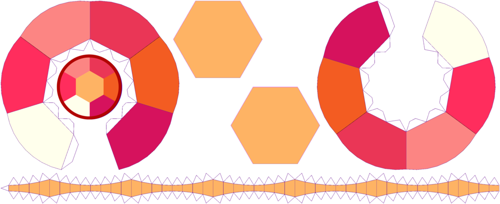 This Is My Papercraft Template To Build Canelian Gemstone