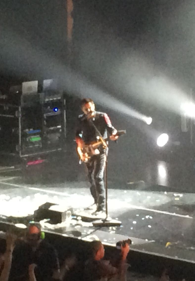Muse playing at the Brighton Dome