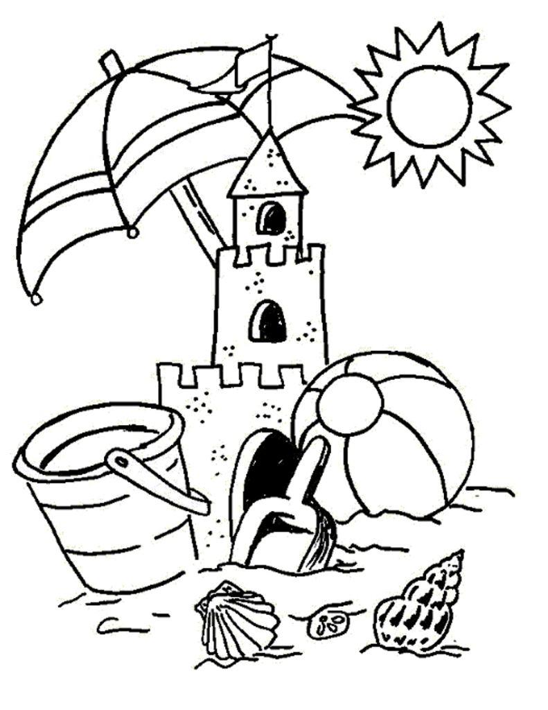 Risultati immagini per disegni estate da colorare | Riciclo creativo ...