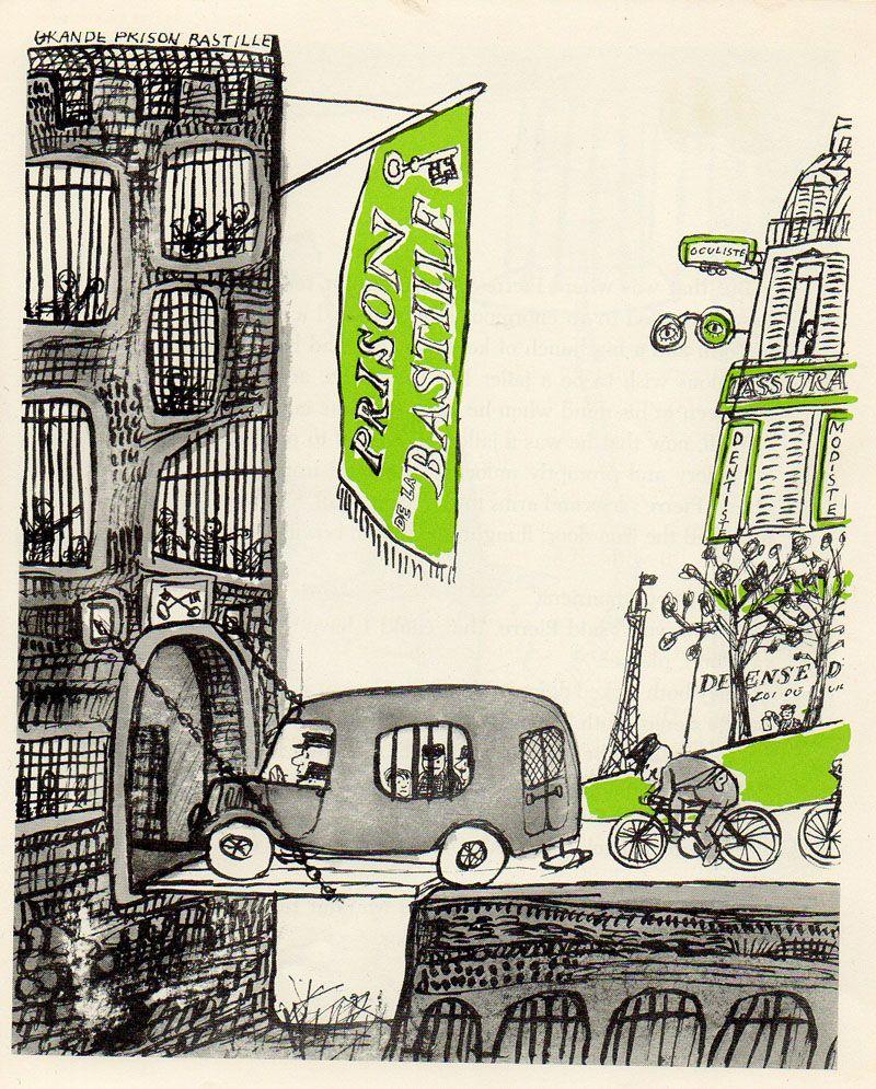 The Magic Currant Bun, de John Symonds, illustré par André François