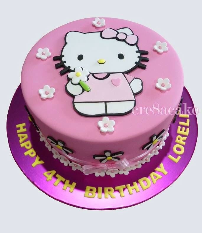 Hello Kitty Birthday Cake My Sisters Cakes Pinterest Hello