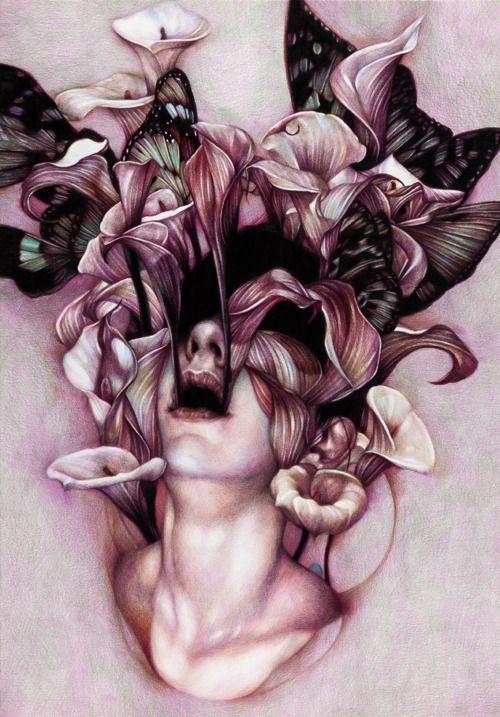 Self Portrait explodes into something I love - focus on balance ...