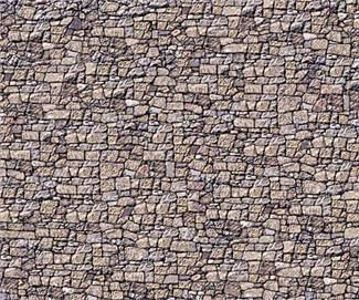 Random stone paper 4 sheets ho scale model scenery for Printable flooring