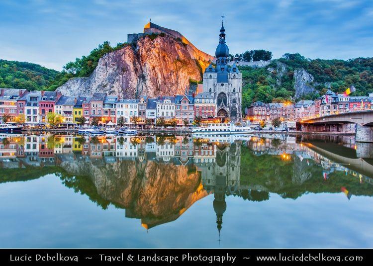 Belgium Wallonia Namur Province Upper Meuse valley Dinant