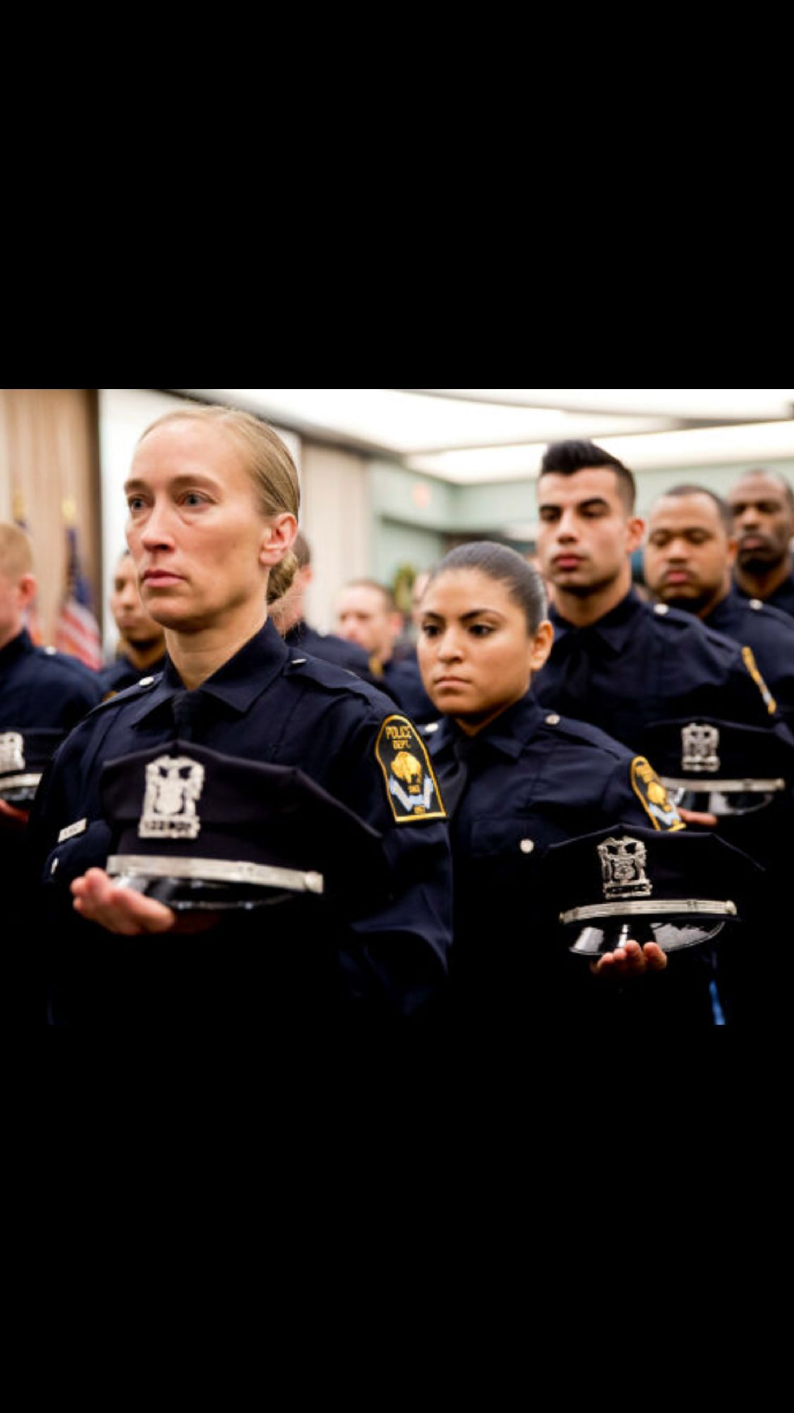Recruit Graduation Police Police Department Think Tank