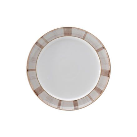 Denby Truffle striped salad plate - watch for deals! They offer new ones almost every week so watch for a nice 40-60% off all stock