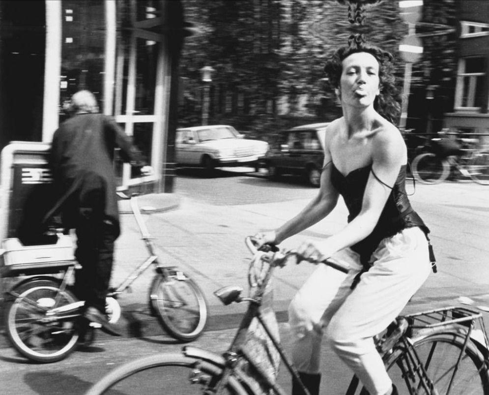 Risultati immagini per bicycling in amsterdam