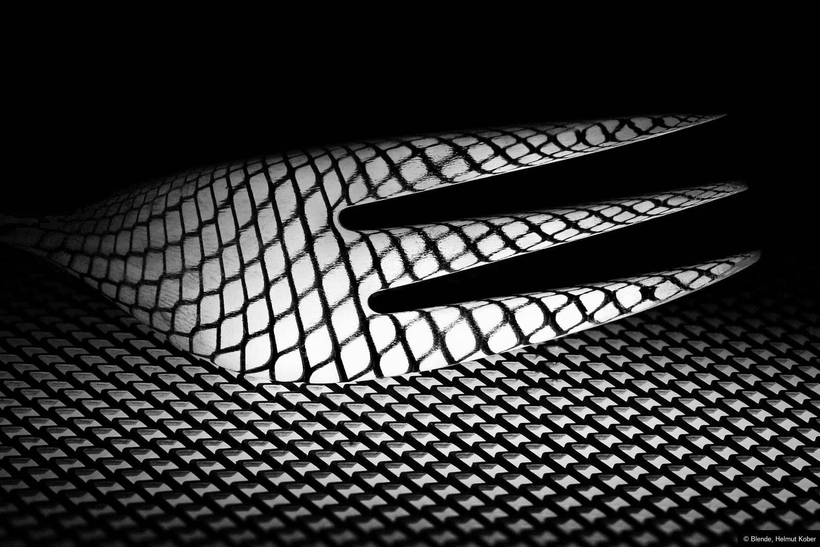 """© Blende, Helmut Kober, #Gabel, Thema: """"Schwarzweiß"""" #Fotowettbewerb #Schwarzweissfotografie"""
