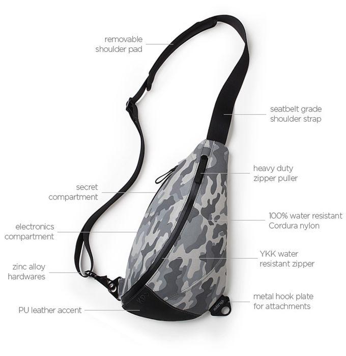 dbd37f368562 KP Sling Bag by Keep Pursuing — Kickstarter