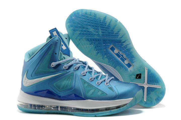 lebron 10 navy blue
