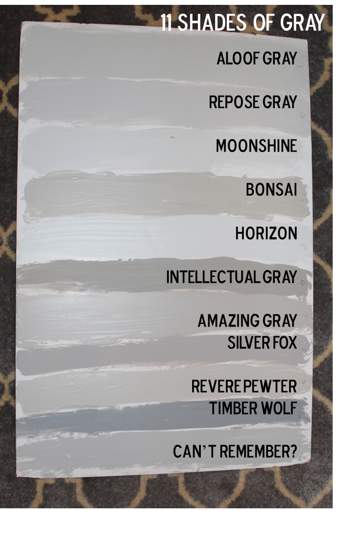 Southern State Of Mind Fifty Shades Grey Our House Paint Colors Repose Gray Slate