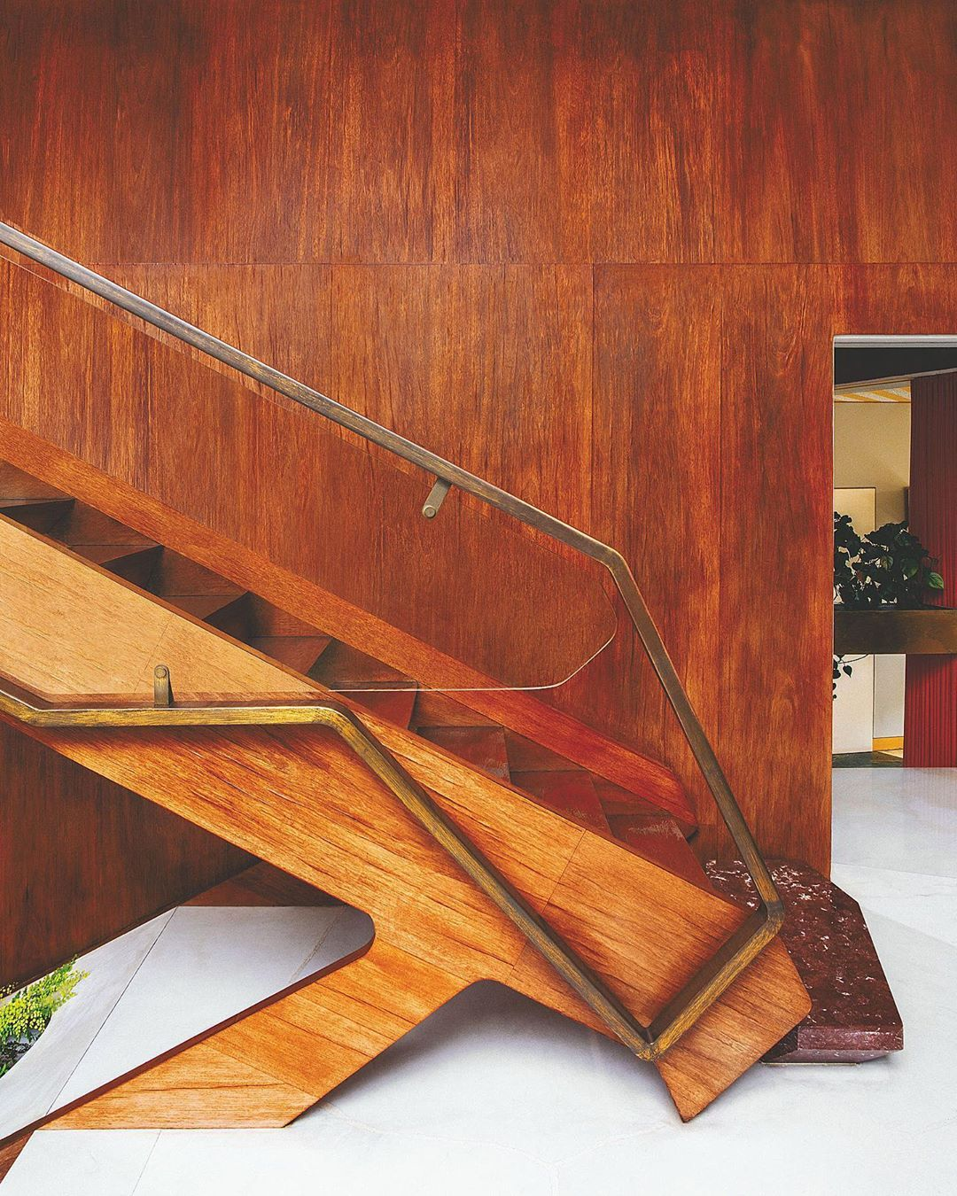 "Best Architectural Digest On Instagram ""A Cantilevered Teak 400 x 300"