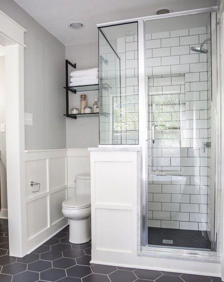 49 Stunning Small Half Bathroom Designs Ideas Decoomo Com Small Half Bathrooms Bathroom Interior Design Bathroom Tile Designs