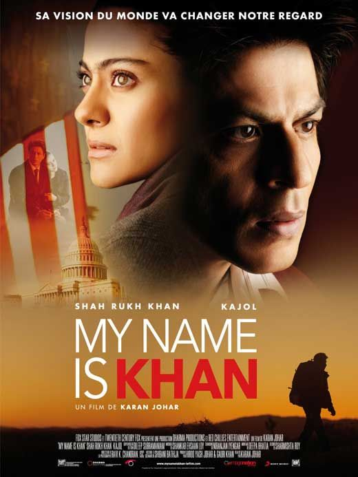 Mi nombre es khan... Es una película que les recomiendo mucho...