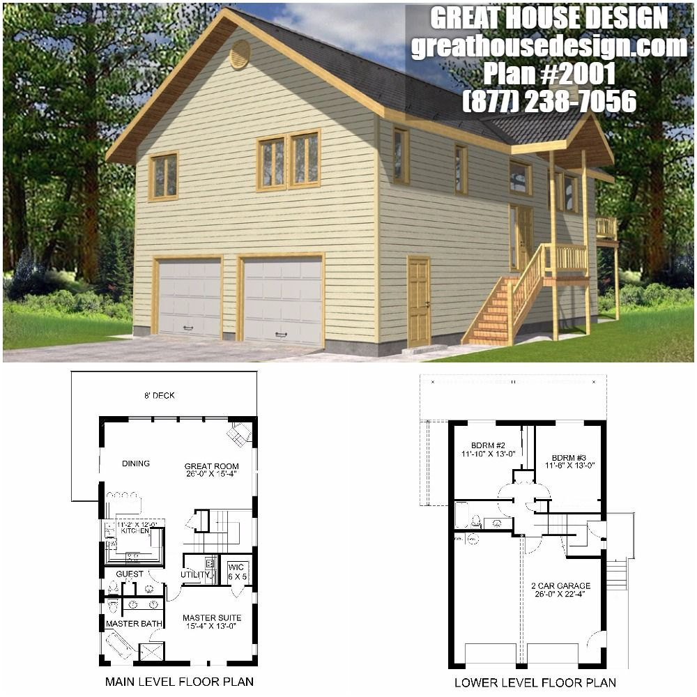 Garage Apartment Plan ICF # 2001 Toll Free: (877) 238-7056 ...