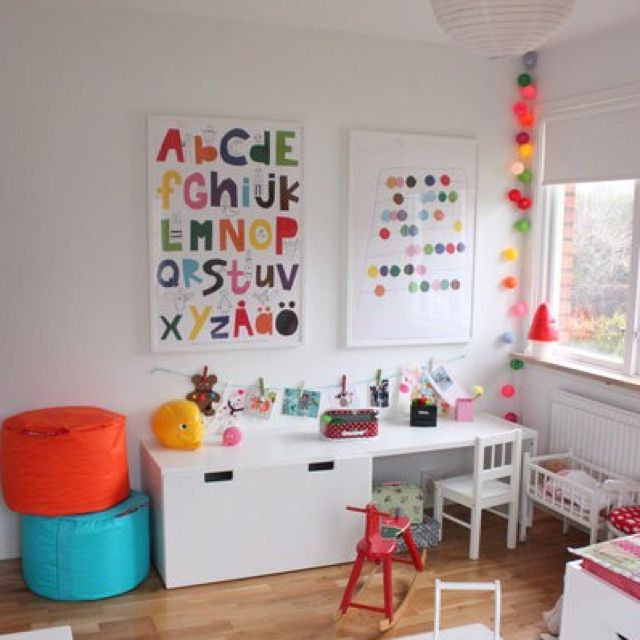 Colour on white. Stuva ikea furniture. Lovethe alphabet poster and ...