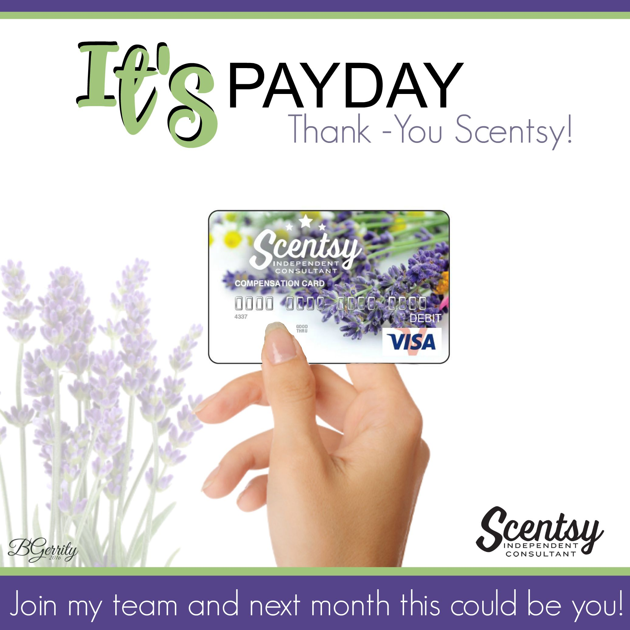 SCENTSY - PAY DAY FLYER CREATED BY BRITTANY GERRITY www ...