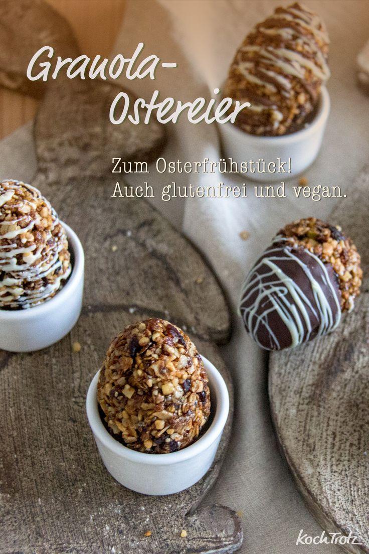 Photo of Granola-Eier | Idee für das Osterfrühstück | Granola-Bites – KochTrotz | kreative Rezepte