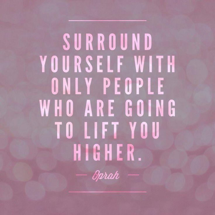 Sunday Saying - Oprah Quote on Positivity