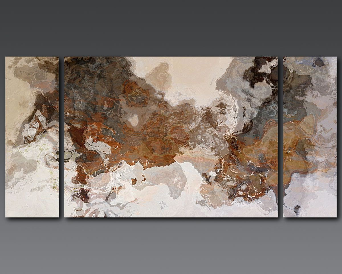 Oversize Triptych Abstract Art 30x60 To 40x78 Stretched Canvas Etsy Abstract Triptych Abstract Abstract Painting