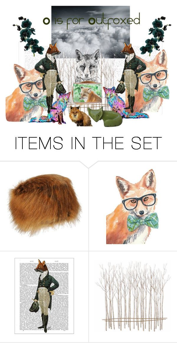 """Outfoxed"" by sunnyjuke ❤ liked on Polyvore featuring art"