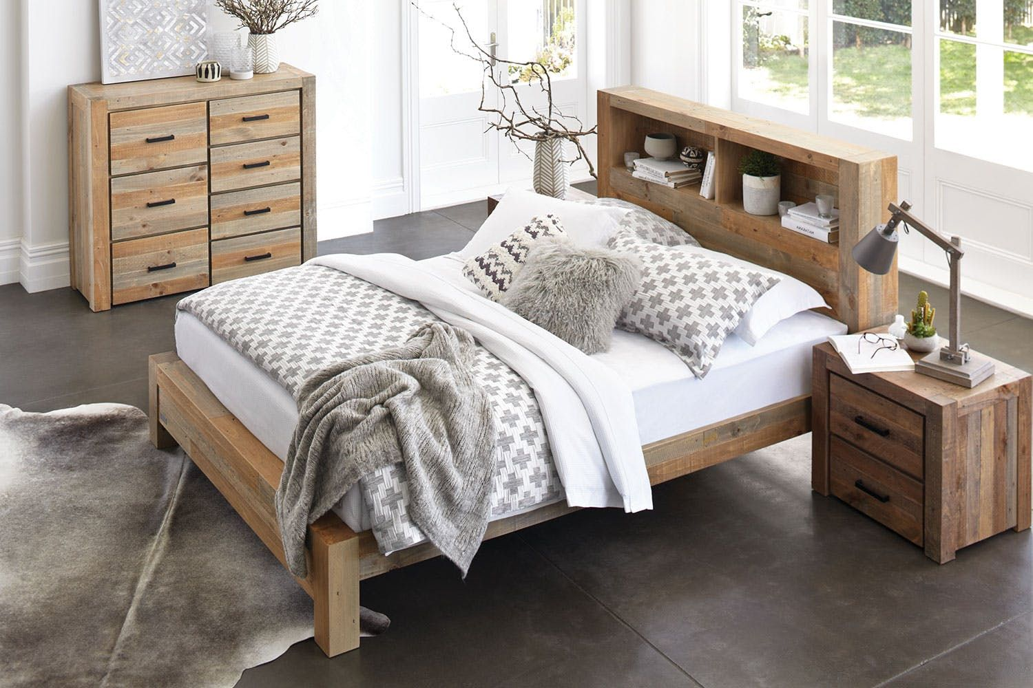 Coolmore King Bed Frame by Stoke Furniture