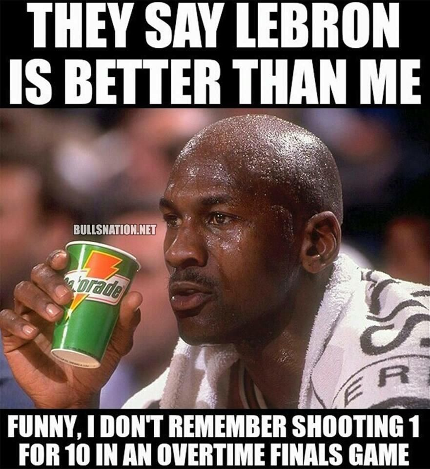 Funniest Jordan Meme : Nba memes on michael jordan lebron james and