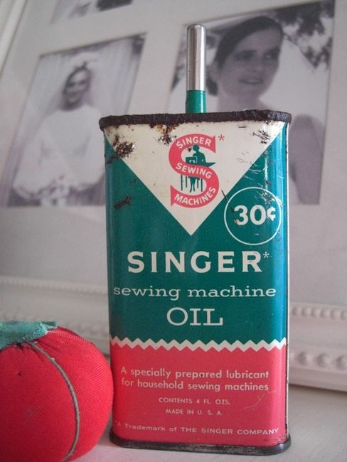 My Grandmother Had Oil Like This For Her Singer Pedal Sewing Machine Interesting How To Oil A Singer Sewing Machine