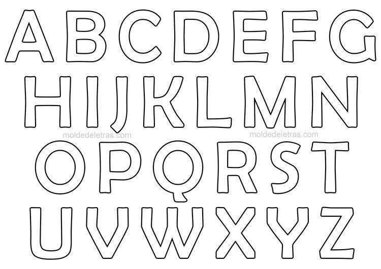 Aqui Tem Muitos Moldes De Letras E Numeros Para Voce Baixar