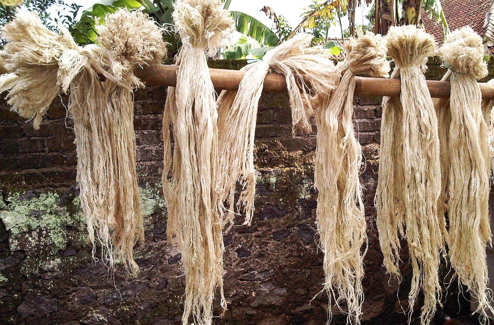 Serat Nanas Serat Daun Nanas Subang Flowers Subang Textile Art