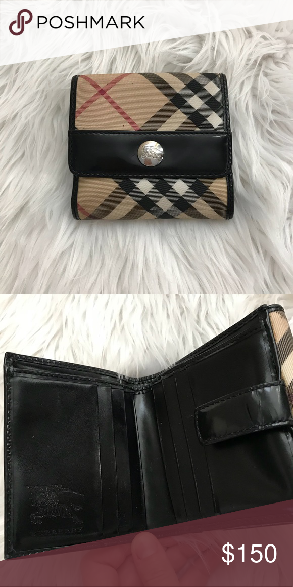 1e2dad0ea Burberry Bifold Wallet Burberry Women's bi-fold Wallet. Normal wear and  tear, good condition. Burberry Bags Wallets