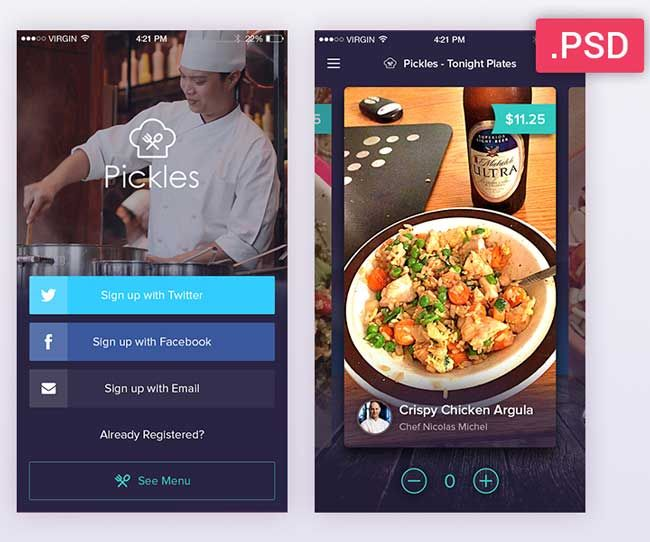 Collection of 50 best free mobile psd app ui kit last update for collection of 50 best free mobile psd app ui kit last update for 2016 including popular forumfinder Image collections