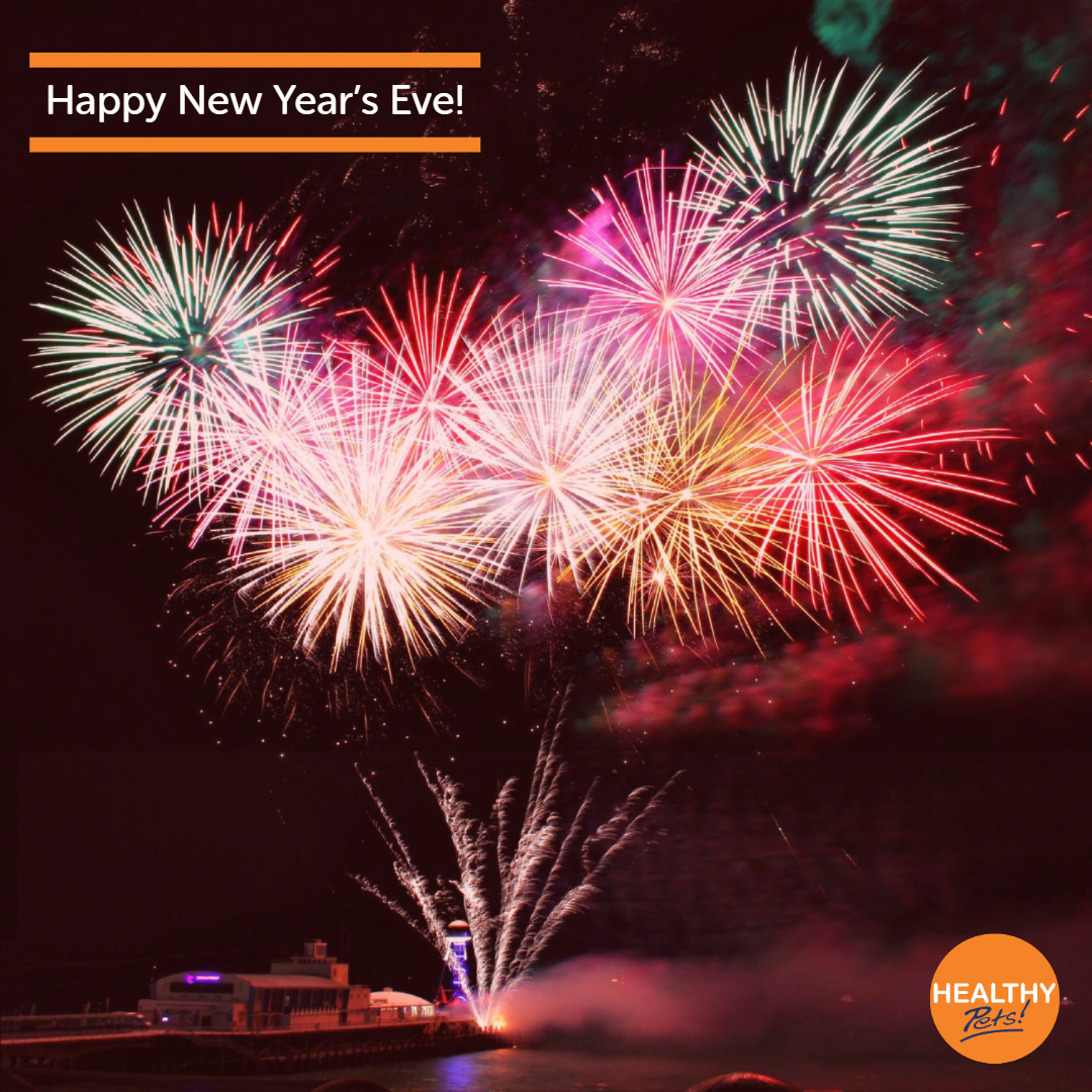Happy New Year's Eve from everyone at Healthy Pets