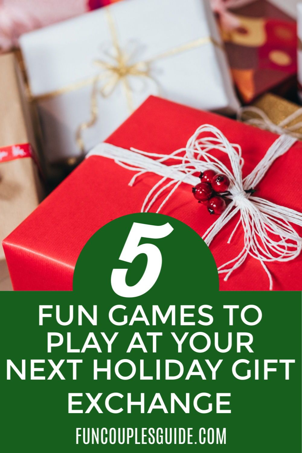 Check out these 5 games to play at your next gift exchange