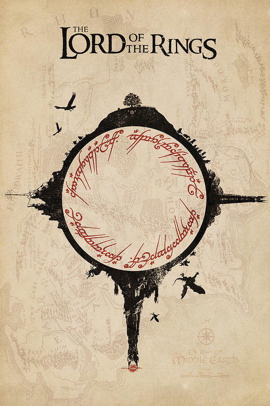 Lord Of The Rings Art Print By Fht Designs Lord Of The Rings Tattoo Lotr Art Lord Of The Rings